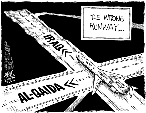 Editorial cartoon published September 1  2006   war on terrorWar On Terrorism Cartoons