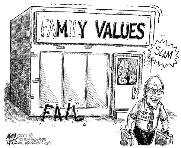 cartoons larry craig