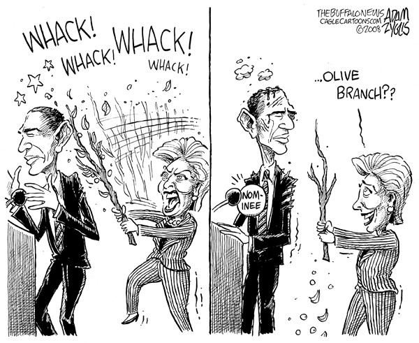 Obama Cartoons and Comics  funny pictures from CartoonStock