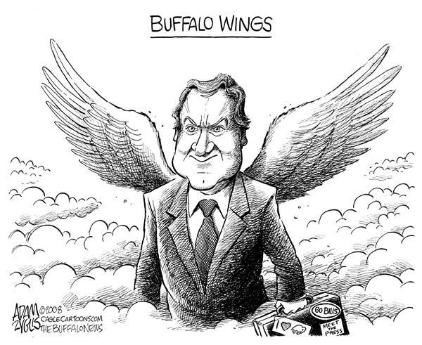 tim russert, buffalo wings, nbc, meet the press, heart attack, bills
